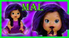 d25a22c9cc Mal Disney Descendants Custom Baby Alive Eats Play-Doh Poops Surprise Bl..
