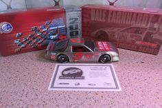 #3 Dale Earnhardt Jr. 2003 PRIME SIRLOIN 1/24 CHROME Chevrolet Camaro NASCAR COA #ActionRacing #Chevrolet