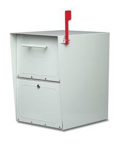 Architectural Oasis Locking Post Mount Drop Box – Mailbox Big Box $229 Free Shipping