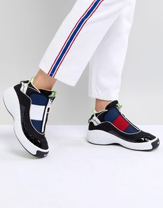 Damen Sneaker - Tommy Jeans 90s Capsule 5.0 Iconic Sneaker Mehrfarbig   Damensneaker  sneaker   cddb5dc4d5