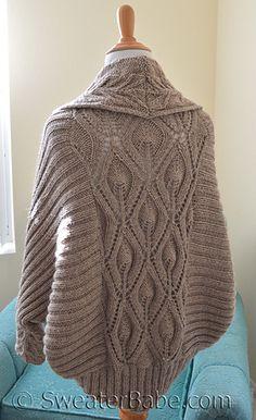 # 191 Табита Кокон Кардиган по SweaterBabe