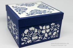 Elegante Deko Box Florale Fantasie mit Produkten von Stampin' Up!