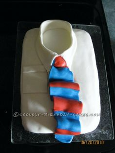 Coolest Father's Day Cake... This website is the Pinterest of birthday cake ideas