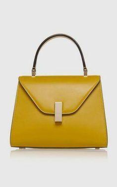 Iside Mini Leather Bag by Valextra Hermes Handbags, Burberry Handbags, Tote Handbags, Purses And Handbags, Leather Handbags, Leather Bag, Burberry Bags, Leather Purses, Soft Leather