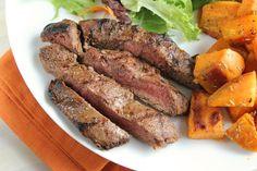 Grilled Flat Iron Steak - Food.com