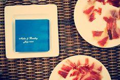 wedding personalised napkins