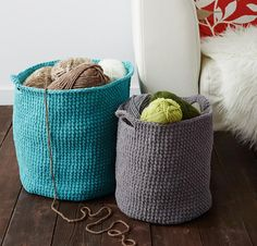 Stash Basket by Bernat Crochet Kit - None