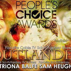 #jaire #samcat #samday #sassenach #samheughan #peopleschoiceawards #jamie #caitrionabalfe #claire #outlander  Source: @outlander_world