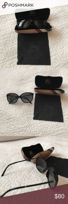 Burberry sunglasses polarized 3001/T3 59-16 4118 Gently used, great condition with case and cleaning cloth Burberry Accessories Sunglasses