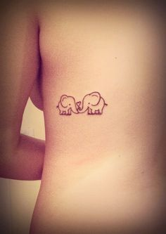 tattoo, elephant, and cute image