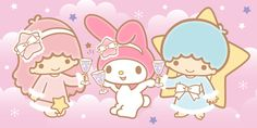 Little twin stars and My Melody