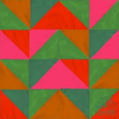 web_dailypattern_triangles_9.19.11  Francesca Buchko