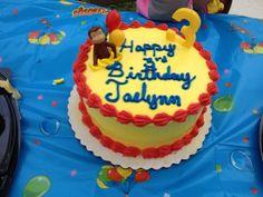 Jae's Curious George cake
