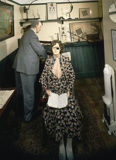 A 1930s eye optometrist's office