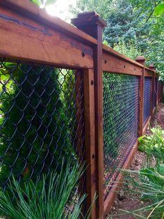 30 Backyard & Garden Fence Decor Ideas - Page 27 of 28 - Gardenholic Backyard Fences, Garden Fencing, Backyard Projects, Backyard Landscaping, Landscaping Ideas, Backyard Privacy, Fenced In Backyard Ideas, Backyard Designs, Pergola Ideas