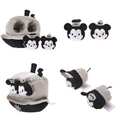D23 Expo mame tsum tsum Steamboat set 2015 from Japan!!! Can't wait to get mine!!! Comes with detachable mini Mickey and Minnie.