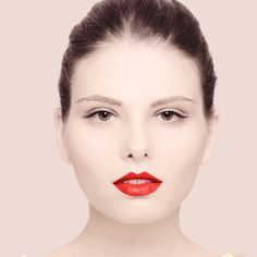 http://blog.themodelstage.com/simple-summer-makeup-with-a-pop-of-color-orange-lips-tutorial/