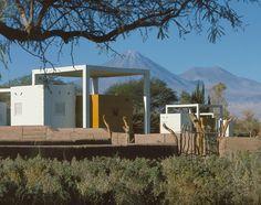 Saunen und Pools in Atacama, © Guy Wenborne