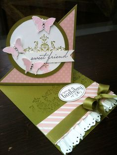 STAMPIN UP UK INDEPENDENT DEMONSTRATOR MONICA GALE: Birthday Passionette Bliss Sale a Bration set