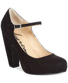 American Rag Jessie Mary Jane Pumps, Only at Macy's-Black or Red-$49.99
