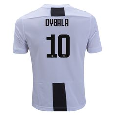 a88739d37 adidas Paulo Dybala Juventus Youth Home Champions League Jersey 18 19-yl  Soccer Equipment