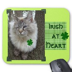 Irish at Heart Mouse Pad