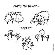 A Walk in the wood.☘️ Word of day 181: forest. . . #365waystodrawfestival #dailydrawing #forest #illustratie #illustration #tekening #waystodraw #icons #sketchnote #visualnote #graphicrecording #getekendverslag #getekendenotulen #zakelijktekenen #visuelenotulen #visueelnotuleren #tekening #studiolimon #haarlem #amsterdam #denbosch