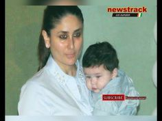 """""""My Taimur is Most Amazing Looking Child"""" _ Kareena Kapoor Khan For more update on latest Bollywood entertainment news, visit http://newstrack.com/category/entertainment"""