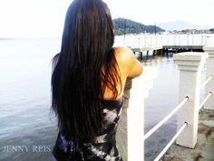Em Cananéia <3 Minha Cidade Natal <3 2012 #Jenny https://www.facebook.com/JennyReisMakeUp