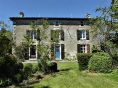 Gîte for sale in Poitou-Charentes, Deux-Sèvres Fomperron French Houses For Sale, French Property, Tall Ceilings, Wood Burner, Large Bedroom, Town And Country, Metal Roof, Bed And Breakfast, Ground Floor