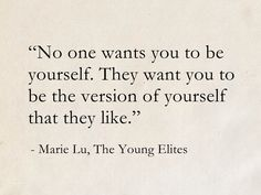 Marie Lu, The Young