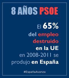 Paro PSOE #DEN2014