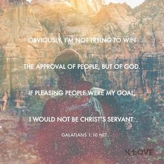 For do I now persuade men or God? Or do I seek to please men? For if I still pleased men I would not be a bondservant of Christ. Galatians 1:10 NKJV ENCOURAGING WORD : @kloveradio  VERSE OF THE DAY : @youversion  http://ift.tt/1H6hyQe  Facebook/smpsocialmediamarketing  Twitter @smpsocialmedia  #Bible #Quote #Inspiration #Hope #Faith #Love #FollowMe #Follow #Tulsa #Twitter #VOTD #TulsaOklahoma #Encouragement #JesusChrist #LORD #Christian #PicOfTheDay #InstaPic #BrokenArrow #Jenks #Owasso…