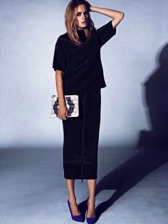 Let's talk about midi skirts, yes?