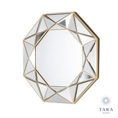 Part of our reflections collection our prism geo gold mirror has the shape of a multi-faceted diamond with mirrors on every facet and a large mirror in the middle. a spectacular showpiece mirror that will look magnificent in a hallway living room or dining room. placed near a window or a light and the brightness is reflected all around the room to make it feel brighter more specious and more welcoming. The post Prism Geo Mirror Gold 90cm appeared first on Skerries Hardware and Pet Centre. Geo, Mirrors, Centre, Middle, Dining Room, Hardware, Window, Shapes, Diamond