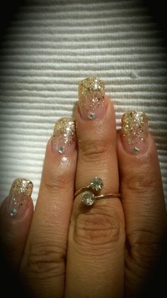 Glitter # fade# extentions