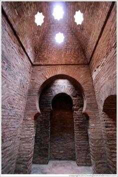 Granada Mosque baths  Alhambra