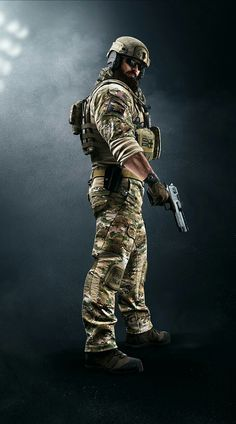 New rainbow six siege dlc 2 operator: blackbeard  Branch: Navy Seal Ability: ballistic shield that van be mounted on a rifle