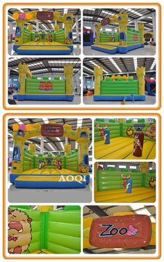 This fairy bouncer is AOQI own design, it's completely digital printed with gorgeous zoo scenery. Inflatable Bouncers, How To Start Running, Special Events, Digital Prints, Scenery, Fairy, Printed, Fun, Design