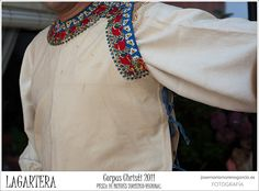 FolkCostume&Embroidery: Mens Costume and Linen Embroidery of Lagartera, Toledo Province, Castille, Spain