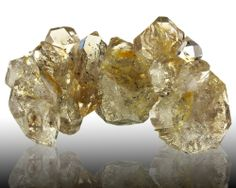 """8.9"""" HERKIMER DIAMONDS 11 Double Terminated Gem Crystals to 3.5"""" NY for sale - $2,250"""