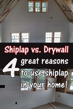 How To Install Shiplap Walls In Your Home Our Top Tips And Hints - Cost of shiplap vs sheetrock