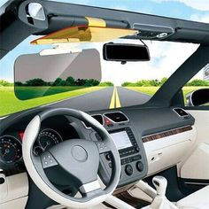 2017 Rushed Hot Sale Viseira Clear View Hd for Vision Car Sun Visor Styling Anti Dazzling Glass Day And Night Interior Mirror