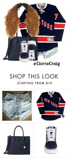 """Home Town"" by cierracraig ❤ liked on Polyvore featuring Michael Kors and Vans"