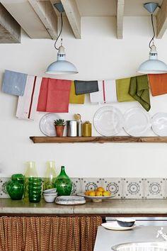 Kitchen Tile Design with Accessories - Kitchen Design Ideas (houseandgarden.co.uk)