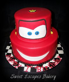 Cars Lightening McQueen Birthday cake