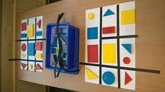 Gloucestershire Resource Centre www. Mondrian Art, Fantasy Kunst, Art Party, Woodland Party, Art Classroom, Little People, Art Techniques, Art School, Art History