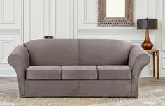 Sure Fit Sleeper Sofa Slipcover - Home Furniture Design Best Sofa Covers, Sure Fit Slipcovers, Home Furniture, Furniture Design, Sleeper Sofa, Love Seat, Couch, Living Room, Sofa Ideas