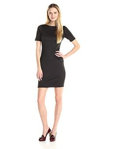 T Tahari Womens Dakota Dress Black 10 -- Want additional info? Click on the image.