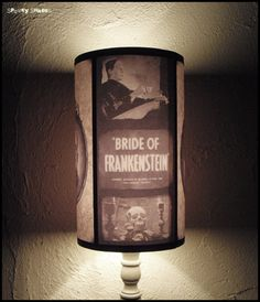 Frankenstein's Bride lamp shade Lampshade So..... Want this